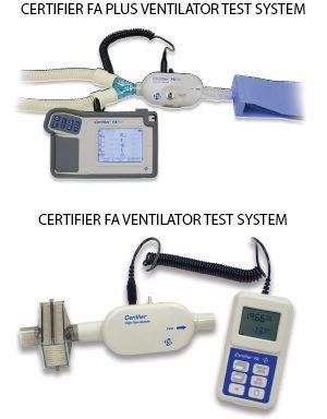CERTIFIER® FA VENTILATOR TEST SYSTEMS