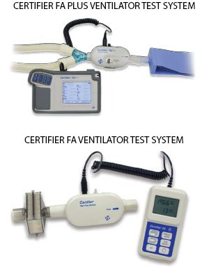 CERTIFIER® FA VENTILATOR TEST SYSTEMS